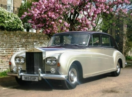 1964 Rolls Royce Phantom for weddings in London